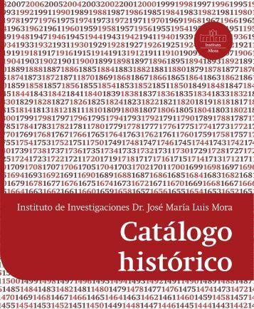 Catálogo histórico (a diciembre 2012) - Mora