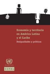 Economía y territorio en América Latina y el Caribe - Cepal