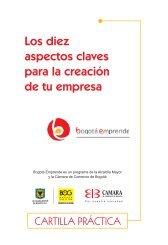 Los diez aspectos claves para la creación de tu ... - Bogotá Emprende