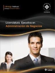 Licenciatura Ejecutiva en - Universidad Anáhuac Puebla