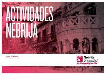 actividad - Universidad Antonio de Nebrija