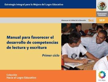 Manual para favorecer el desarrollo de competencias de lectura y ...