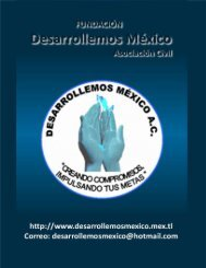 acuerdo de colaboracion - Fundacion DESARROLLEMOS MÉXICO ...