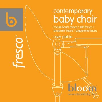 baby chair - bloom