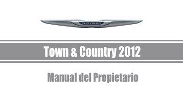 Town & Country 2012 Manual Del Propietario - Chrysler