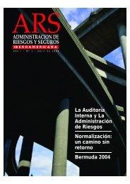 ADMINISTRACION DE RIESGOS Y SEGUROS - Alarys