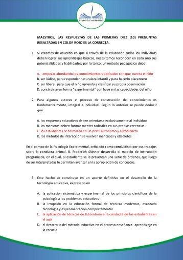 prueba_de_pedagogia - pedagogía docente