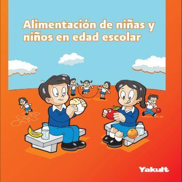 Folleto Alimentación de niños en edad escolar - Dirección General ...