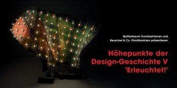 Einladung / Programm - Quittenbaum Kunstauktionen