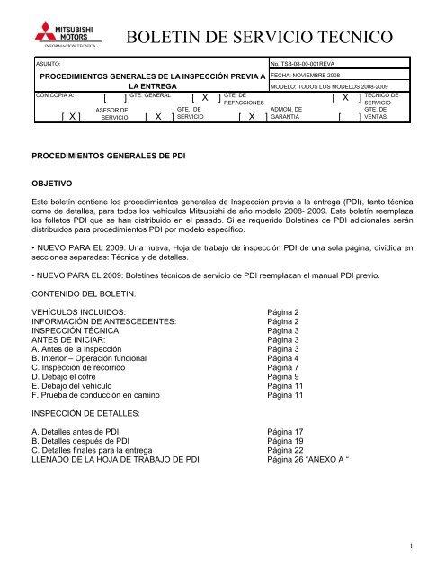 a62264f1fce BOLETIN DE SERVICIO TECNICO - Jato