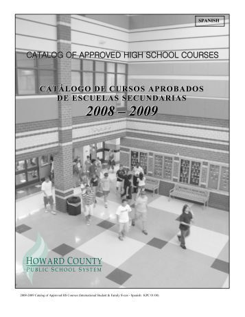 HS Catalog - Howard County Public Schools