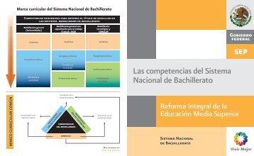 Las competencias del Sistema Nacional de Bachillerato - Portal de ...