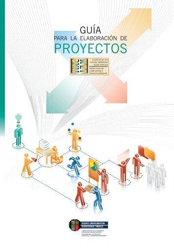 guía para la elaboración de proyectos - instituto vasco de las ...