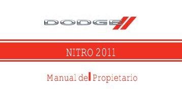 Manual del Propietario - Dodge
