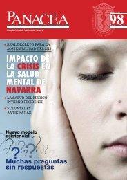 Descargar revista número 98 - Colegio oficial de Medicos de Navarra