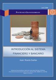 introducción al sistema financiero y bancario - Politécnico
