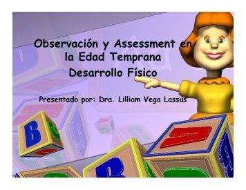 Taller Desarrollo Físico Edad Temprana (PDF) - Universidad del ...