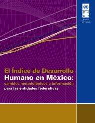 Índice de Desarrollo Humano en México: cambios - CINU