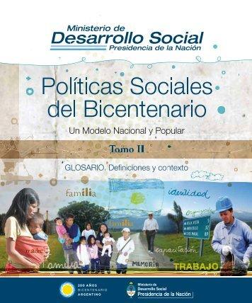 Tomo II - Ministerio de Desarrollo Social