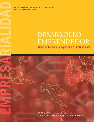 Desarrollo Emprendedor América Latina y la experiencia - Fundes