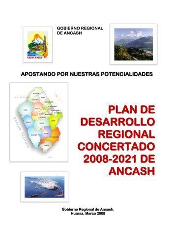 Plan de Desarrollo Regional Concertado 2008 – 2021 - Gobierno ...