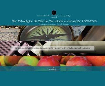 Plan Estratégico de Ciencia, Tecnología e Innovación 2008-2018