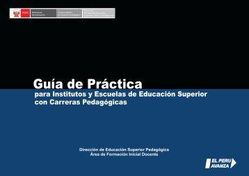 Guía de Práctica - Ministerio de Educación