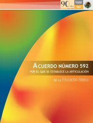 ACUERDO NÚMERO 592 - Reforma Preescolar - Secretaría de ...