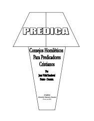 consejos homiléticos CURSO BASICO