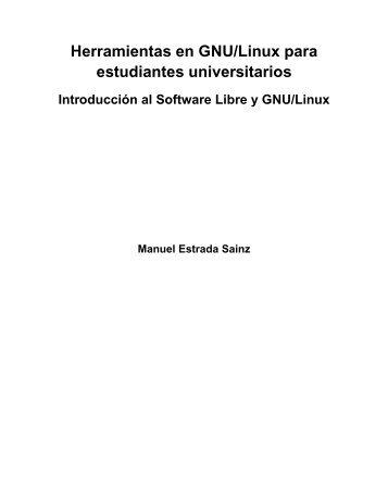 Herramientas en GNU/Linux para estudiantes universitarios
