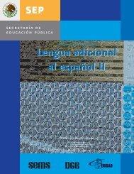 Lengua adicional al español II Lengua adicional al ... - Cobat.edu.mx