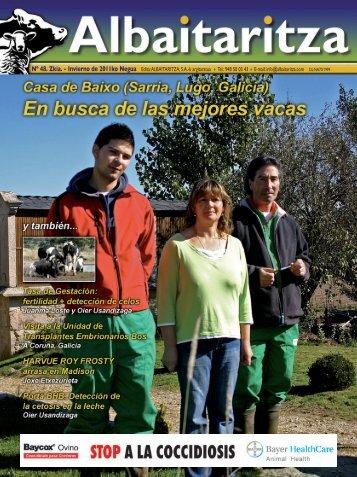 Nº 48. Zkia. - Invierno de 2011ko Negua Edita:ALBAITARITZA, S.A. ...