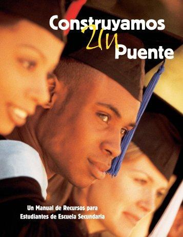 Un Manual de Recursos para Estudiantes de Escuela Secundaria