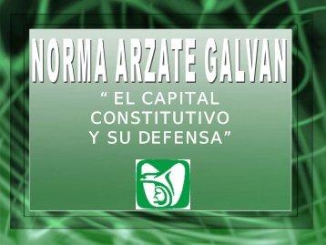 los capitales constitutivos - Club Virtual