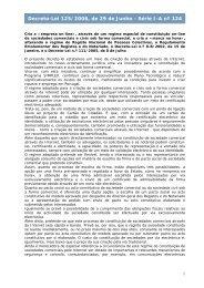 Decreto-Lei 125/2006, de 29 de Junho - Série I-A nº 124