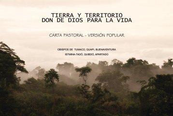 Descargue la Carta Pastoral... - Chocó