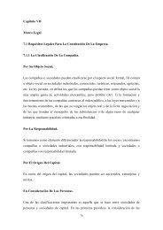 Capitulo VII Marco Legal 7.1 Requisitos Legales Para La ...