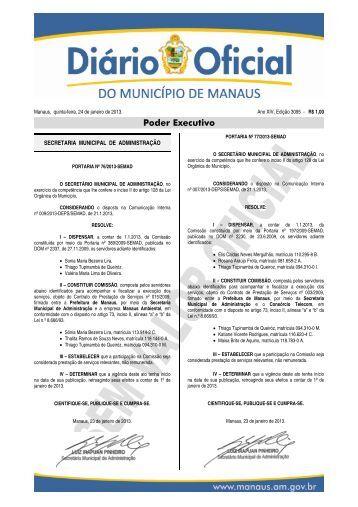 3095 caderno 1 - Diário Oficial do Município