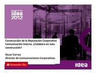 Oscar Correa - IDEA