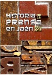 'Historia de la Prensa en Jaén 18080-2012'. - Multipress-Jaén