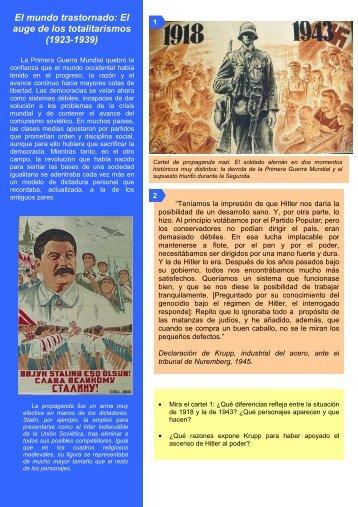 El auge de los totalitarismos - Materiales y recursos para Historia ...