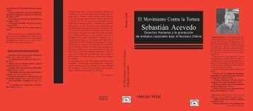 El Movimiento Contra la Tortura Sebastián Acevedo - Institute for the ...