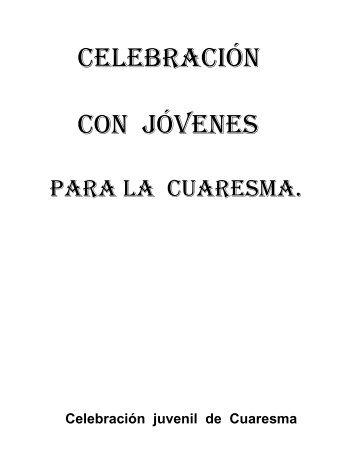 celebración con jóvenes para la cuaresma - Betania