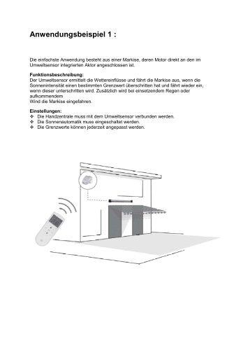 Anwendungsbeispiele zum Umweltsensor 9475 - Rademacher