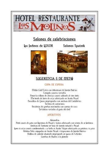 Salones de celebraciones - Hotel en Jodar, Restaurante en Jodar ...