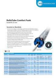 RolloTube Comfort Funk - Rademacher