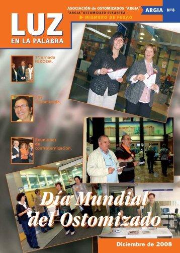 Revista 8 - Argia. Asociación vasca de Ostomizados e incontinentes