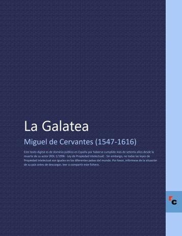 La Galatea - Descarga Ebooks