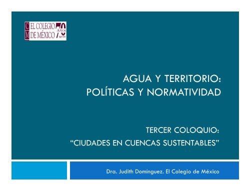 Dra. Judith Domínguez Serrano - ATL el portal del agua desde México