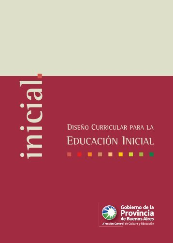 Diseño Curricular para el Nivel Inicial - Docente
